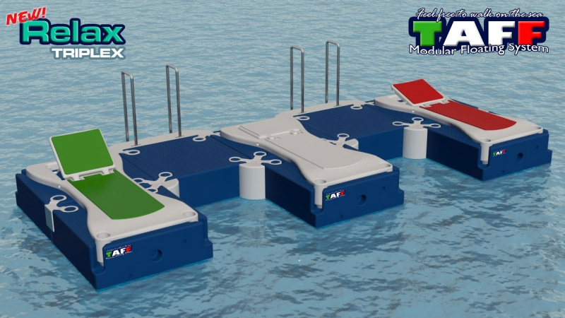Applications | TAFF Modular Floating System